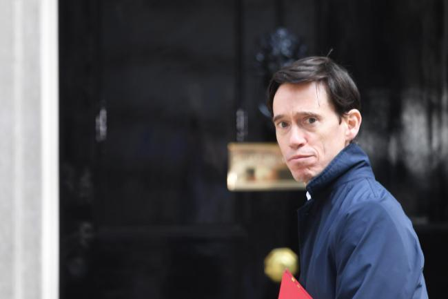 Rory Stewart arrives for a Cabinet meeting at 10 Downing Street