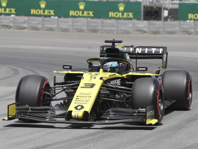 Daniel Ricciardo, pictured in action during the Canadian Grand Prix, is hoping Renault can repeat their form from Montreal Picture: Tom Boland/The Canadian Press via AP