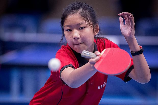 Bicester's Chui-Que Wong in action in Wolverhampton Picture: Michael Loveder