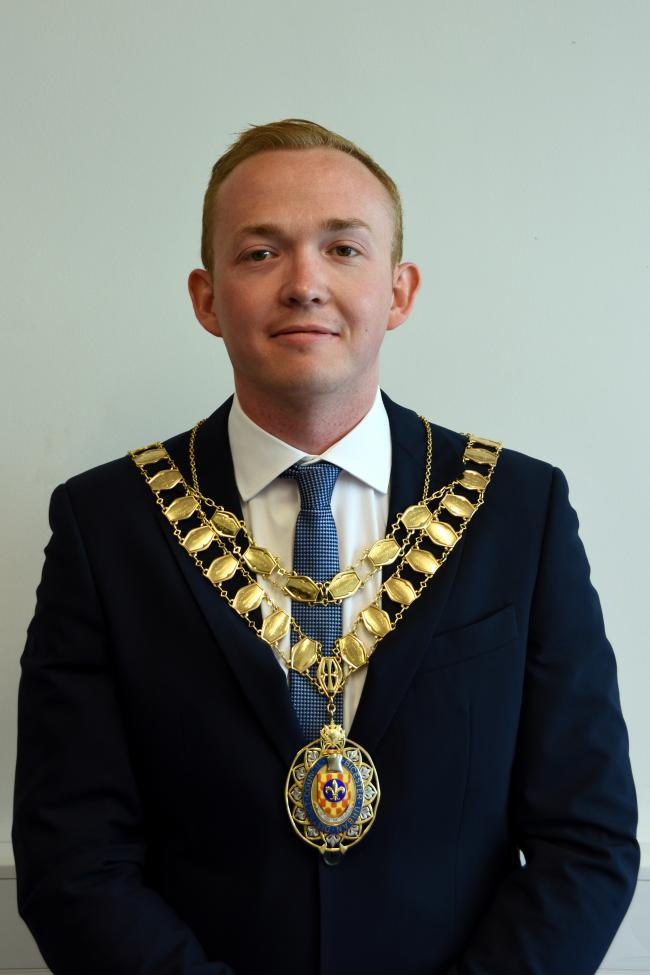 Jason Slaymaker is Bicester's new mayor