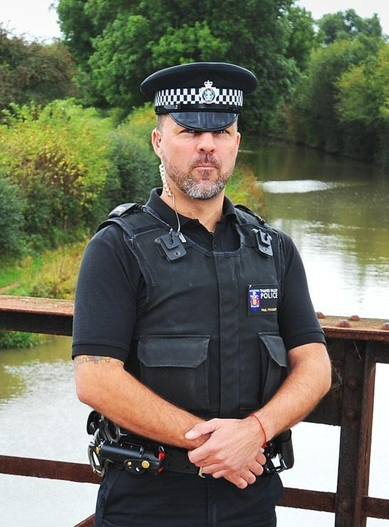 PC Paul Foggatt has been in the police force since 2002