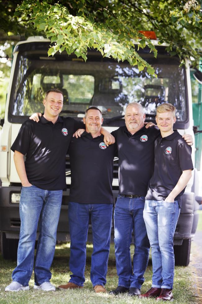 Bicester HGV drivers are driving around the world in a lorry to raise money for four charities. They call themselves Globe Truckers!