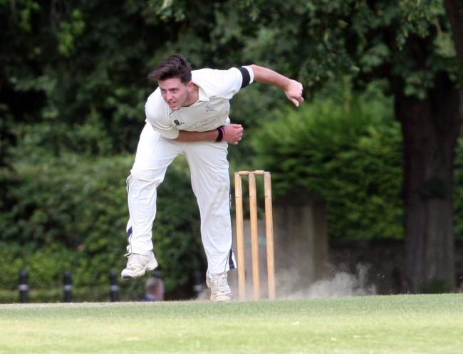 Charlie Fisher took 3-5 in Witney Swifts' convincing nine-wicket win over Faringdon