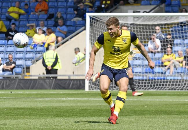 Josh Ruffels says it will be nice for Oxford United to be the underdog at Sunderland this afternoon Picture: David Fleming