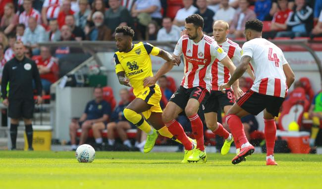Tariqe Fosu is set to make his home debut for Oxford United after scoring in the 1-1 draw at Sunderland last weekend Picture: Richard Parkes