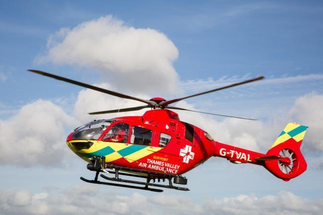 Thames Valley Air Ambulance Picture: Mark Lord