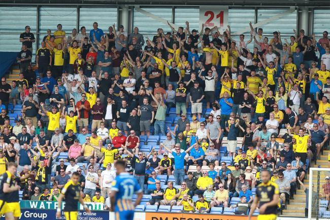 Oxford United fans Picture: Richard Parkes
