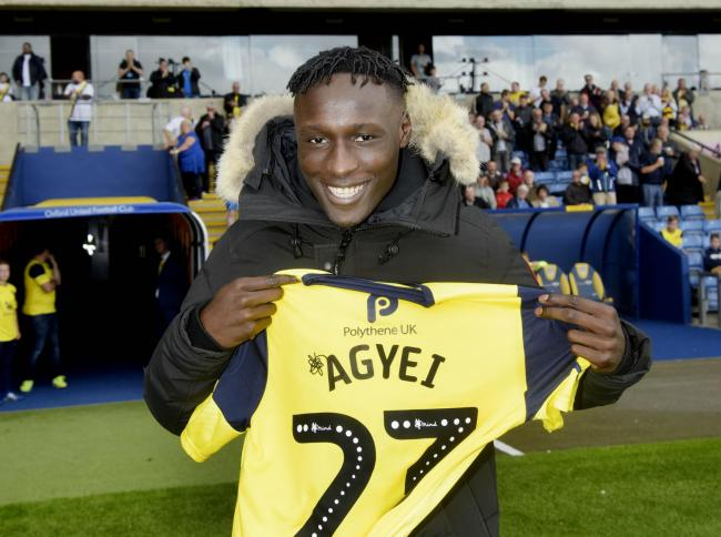 Dan Agyei has signed a three-year contract at Oxford United  Picture: David Fleming