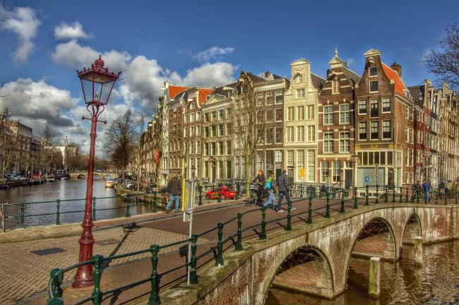 Amsterdam. Could Oxford become more like Holland in the future?