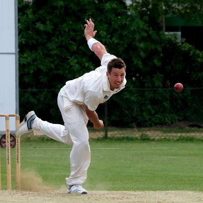 Calum Taylor's all-round display helped Shipton-under-Wychwood beat Didcot Picture: Ric Mellis