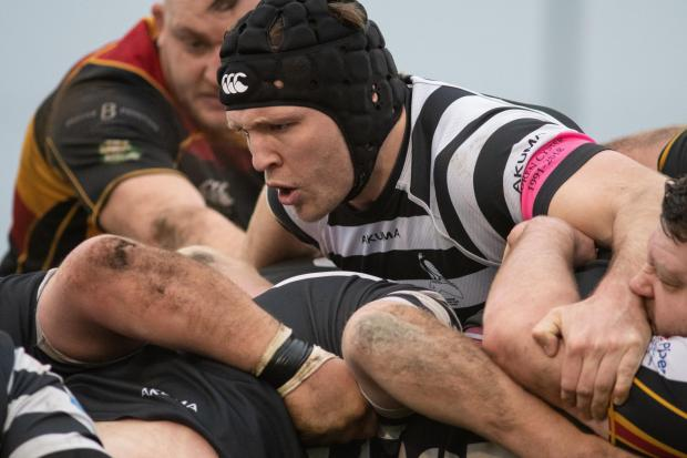 Ben Manning has made more than 100 appearances for Chinnor Picture: David Howlett