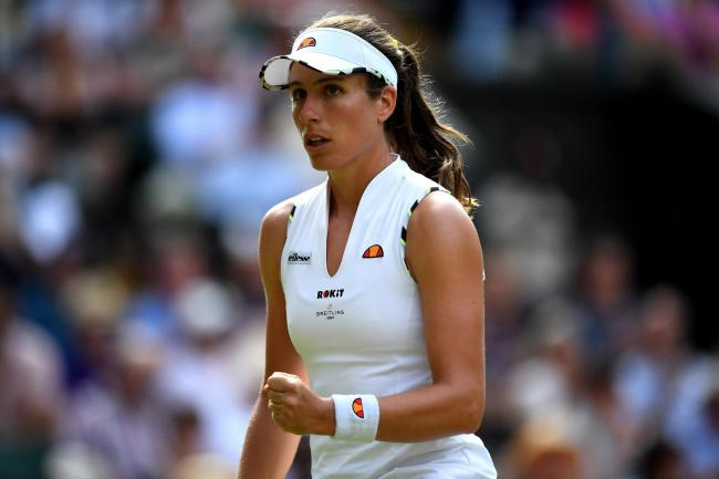 Johanna Konta will look to continue her strong grand slam form in 2019
