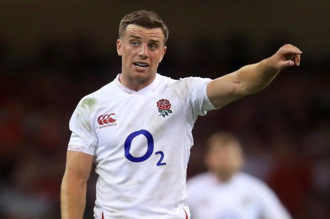 George Ford (pictured) will start alongside Owen Farrell for the first time in 14 months