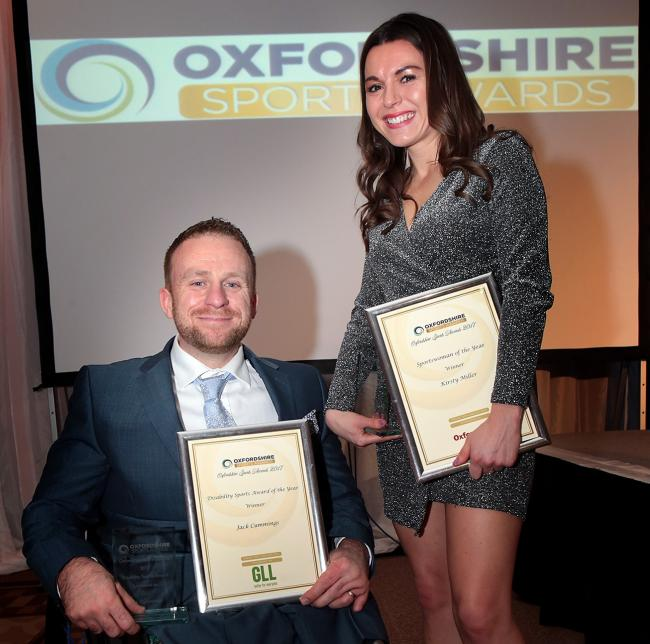 Kirsty Miller and Jack Cummings were among the winners at the last awards ceremony Picture: Ric Mellis