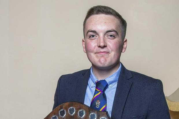Ben Clark was named Players' Player of the Year at the Bicester & North Oxford CC Senior Presentation Evening 2019 Picture: Matt Hancock