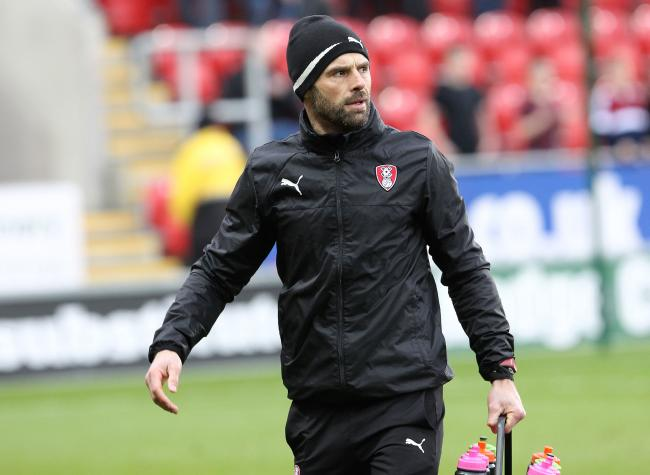 Rotherham manager Paul Warne     Picture: Richard Parkes.
