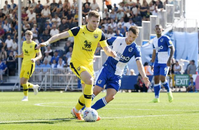 Chris Cadden has high hopes for Oxford United tomorrow    Picture: David Fleming