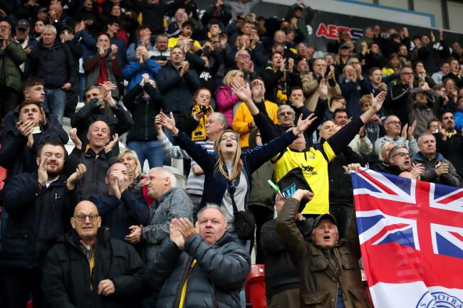 Oxford United fans are invited to contribute to our coverage ahead of the play-off semi-final against Portsmouth Picture: James Williamson