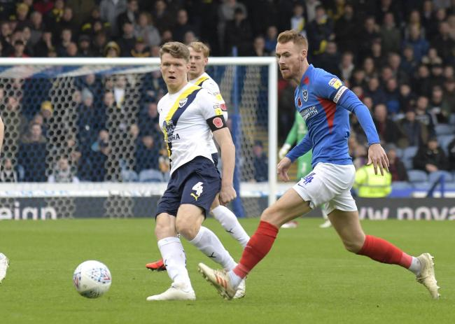 Rob Dickie maintains Oxford United's full attention will be on this afternoon's clash with Milton Keynes Dons, despite Premier League champions Manchester City visiting on Wednesday Picture: David Fleming