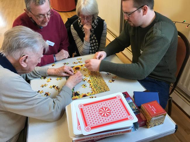 Dementia Active also has groups in Aynho and Oxford that meet weekly. The new group in Bicester will start from Tuesday, December 10.