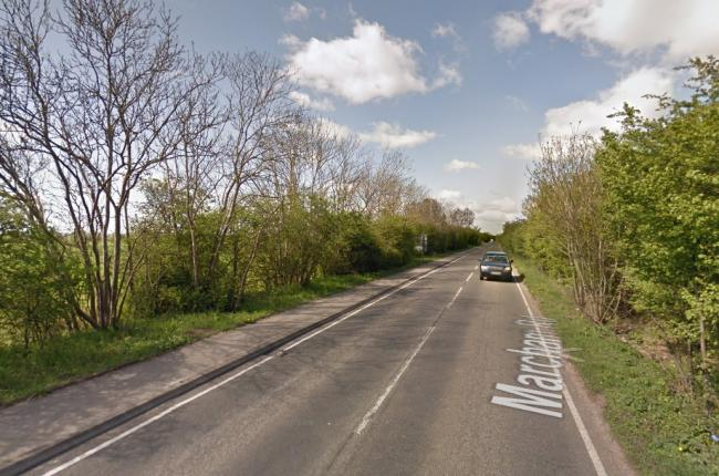 Could the speed limit between Marcham and Abingdon be reduced? Picture: Google Maps.