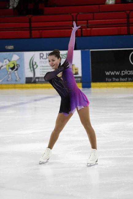 Drayton figure skater Halah Thomas is aiming to kick on Picture: Action PR