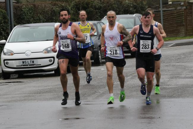 Some of the runners at the Banbury 15 Picture: Barry Cornelius