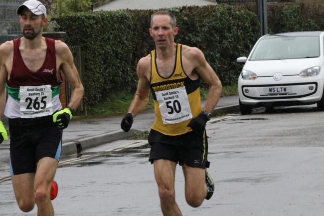 Woodstock Harrier James Bolton finished second at the Banbury 15 Picture: Barry Cornelius