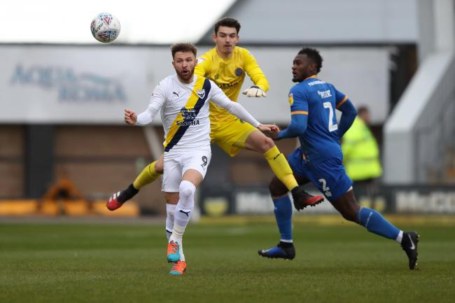 Oxford United's last game was at Shrewsbury Town on March 7  Picture: James Williamson