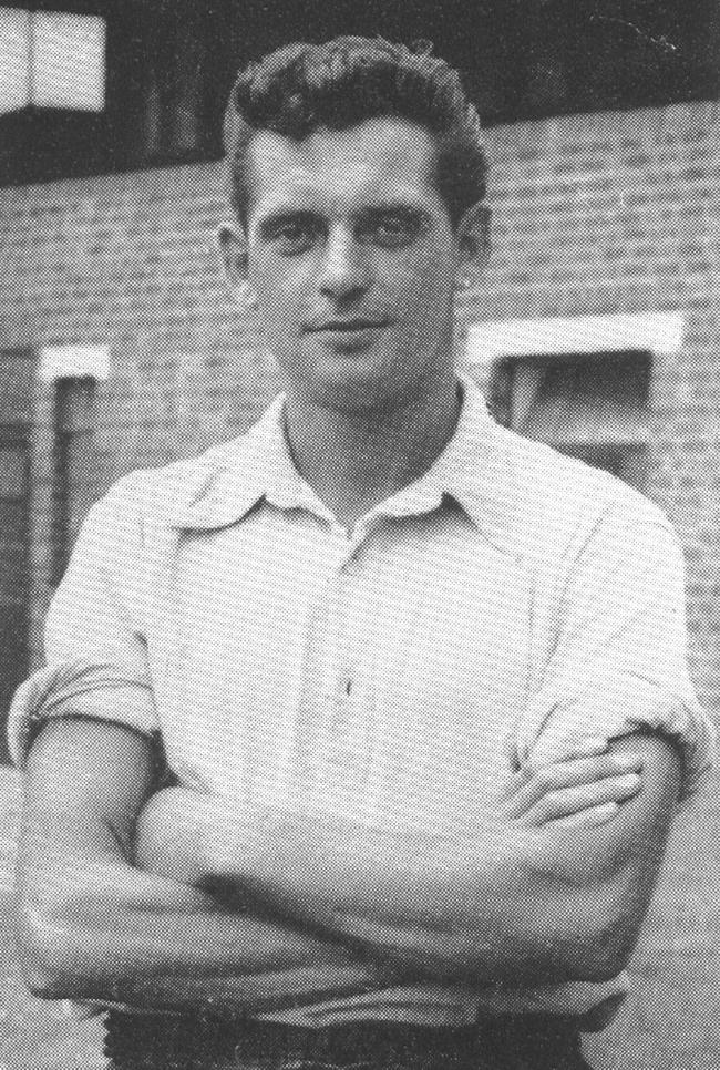 Geoff Denial at the Manor Ground  in 1962   Picture: Oxford United