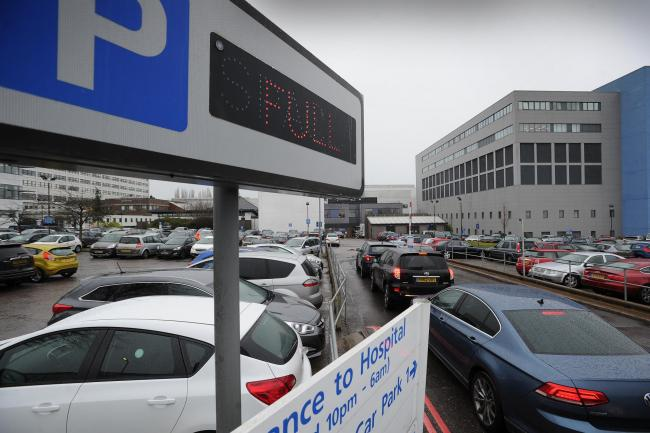Government promises to cover costs of free parking for NHS staff at hospitals