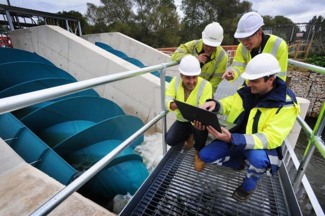Oxford Low Carbon Hub at Sandford hydro