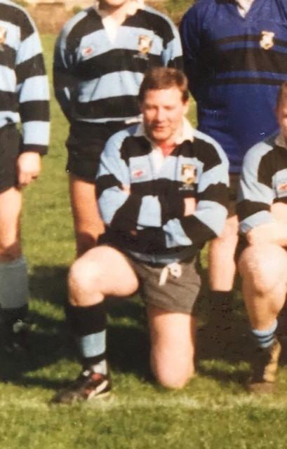 Dave Wicks during his time as a player for Witney