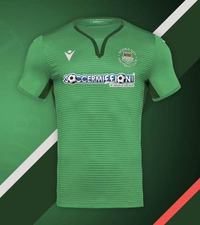Oxford City's away shirt for 2020/21Picture: Mick Livesey