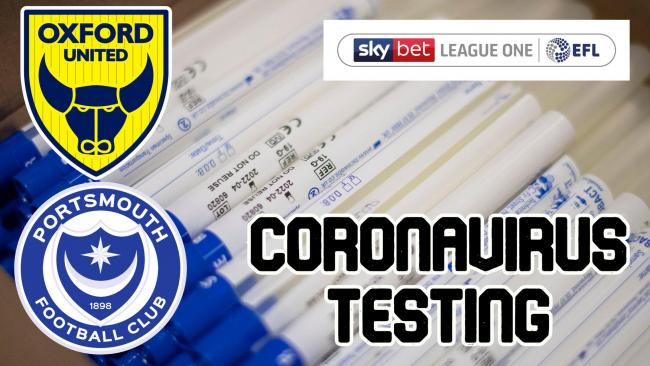 Oxford United test all-clear for coronavirus ahead of second leg with Portsmouth