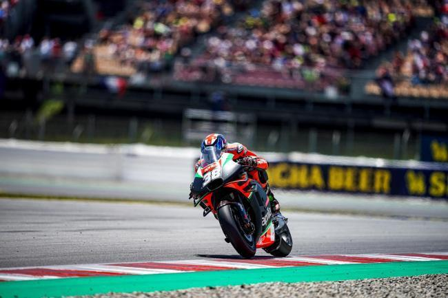 Bradley Smith is due to race while Andrea Iannone is contesting a ban    Picture: Aprilia Racing