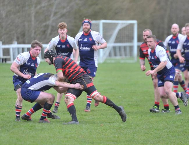 Grove in action against Swindon College Old Boys last season. Their head coach Craig Burrows admits the uncertainty over next season's start date is making it difficult for the club to plan Picture: Dave Cox