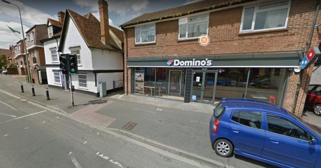 Pic of Domino's Pizza on Ock Street. Pic from Google Maps