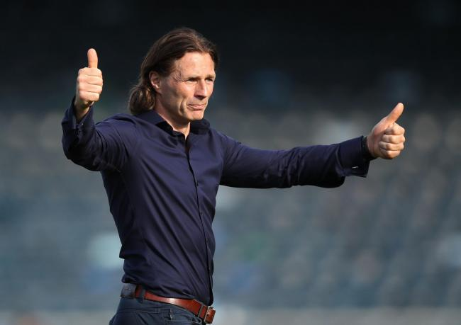 Wycombe Wanderers boss Gareth Ainsworth 	 Picture: Andrew Matthews/PA Wire