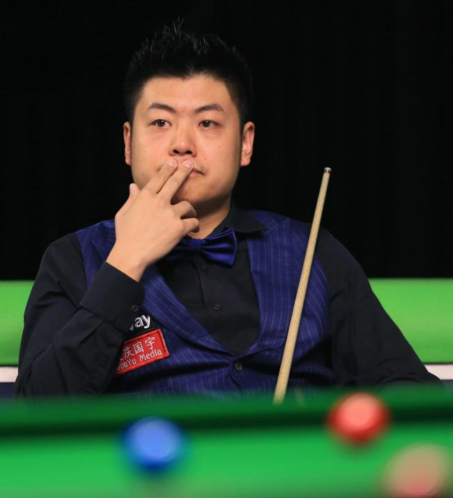Liang Wenbo   Picture: Nigel French/PA Wire