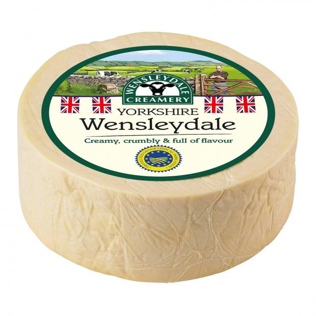 Bicester Advertiser: Wensleydale cheese. Picture credit: Wensleydale Creamery