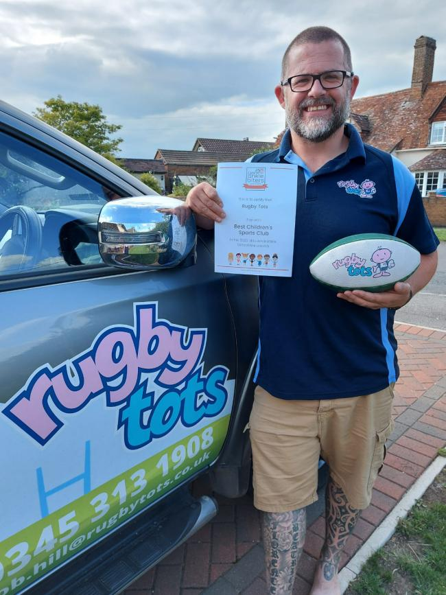 Rob Hill of Rugbytots Thame and Bicester