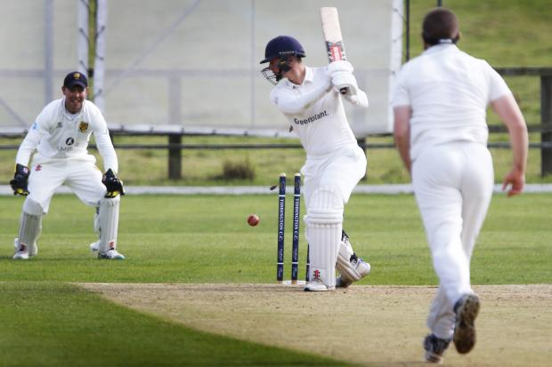 Tiddington's Ben Smith is bowled by George Bacon in Cumnor's 33-run victory  	   Pictures: Ed Nix
