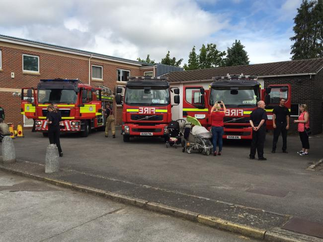 Bicester Fire Station hosted an open day for the public to come along and see what they do.20.07.2016 Submitted pictures from the fire service, not for resale..