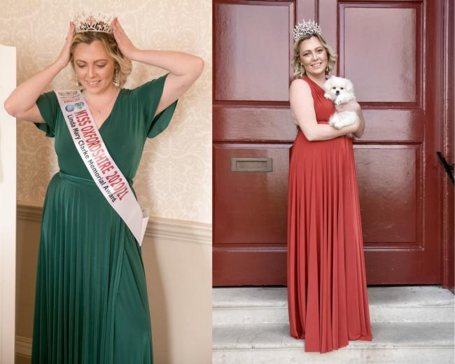Oxford Brookes student Alex Evangelou has been named the new Miss Oxfordshire. Pictures: Simon Ackerman