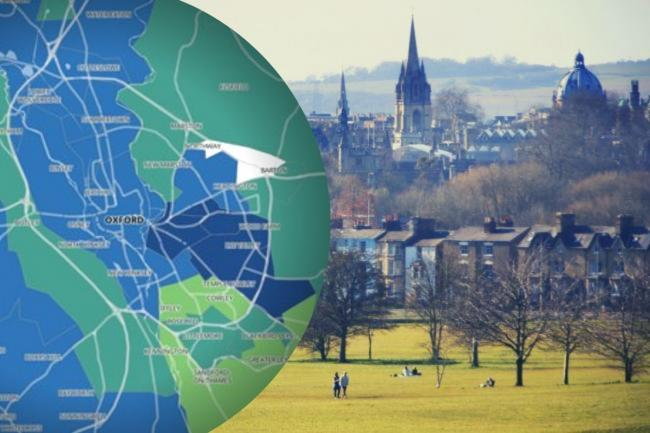 Latest coronavirus hotspots for Oxford and Oxfordshire