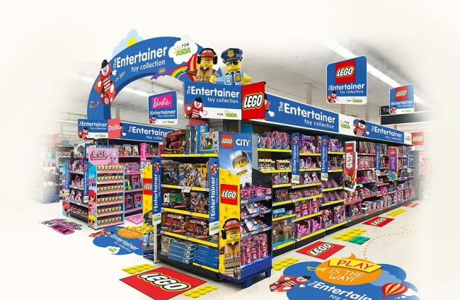Asda to team up with toy chain The Entertainer in 'exciting' trial at several stores. Picture: Asda