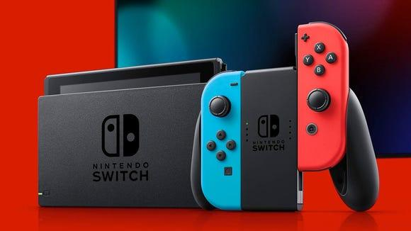 Bicester Advertiser: Best tech gifts 2020: Nintendo Switch Credit: Amazon / Nintendo