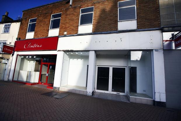 Bicester Advertiser: Dorothy Perkins closed at the beginning of 2020 and Clintons closed mid-2020. Now a planning application has been submitted to knock the units down and build 28 flats.