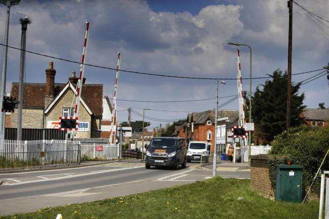 East West Rail has opened a consultation allowing people to have their say on what should happen to the London Road Level Crossing. Picture by Ed Nix.